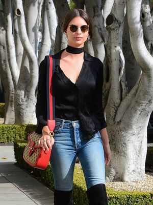 Emily Ratajkowskis Reformation Top Is Date,Night Perfect