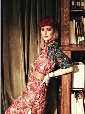 Dakota Johnson Is the Ultimate '70s Babe in Her New Shoot