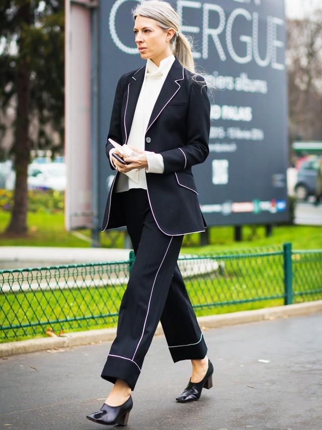 London Look #2: Mannish Suit