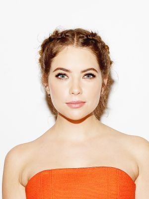 Ashley Benson's Braided Updo Is a Must-See