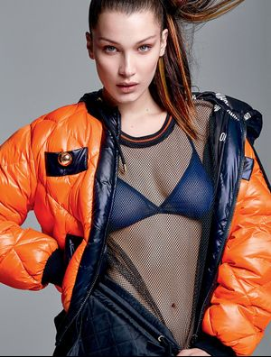 Bella Hadid Goes Sporty for Elle Brazil