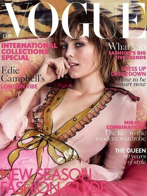 Edie Campbell Lands the March Cover of British Vogue