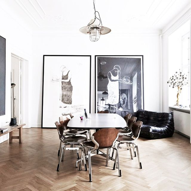 Inside a Contemporary Copenhagen Home With Period Details