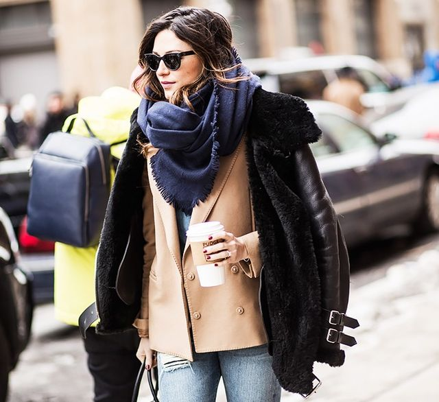 The Warm Winter Jacket Every Fashion Insider Owns