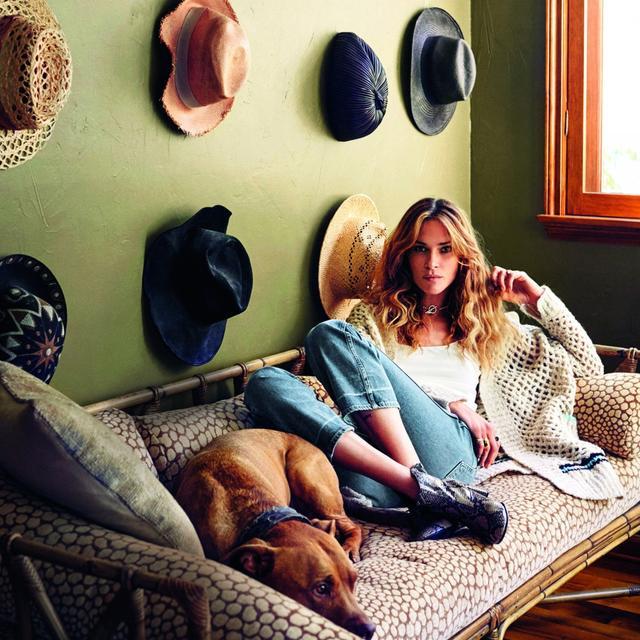 Step Inside Erin Wasson's Bohemian Venice Beach Home