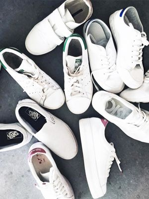 #TuesdayShoesday: 7 Marked-Down White Sneakers