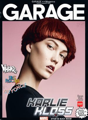 Garage Magazine and Marvel Transform Adriana Lima and Karlie Kloss Into Superheroes
