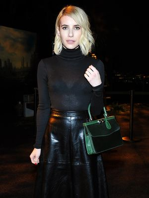 How to Look Taller Than You Are, According to Emma Roberts
