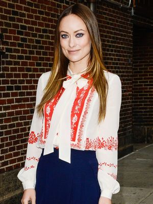Olivia Wilde Has a Simple Trick to Elongate Her Legs