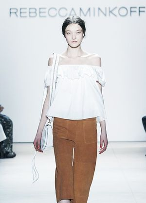 The Rebecca Minkoff Collection Was a Breath of Fresh Air