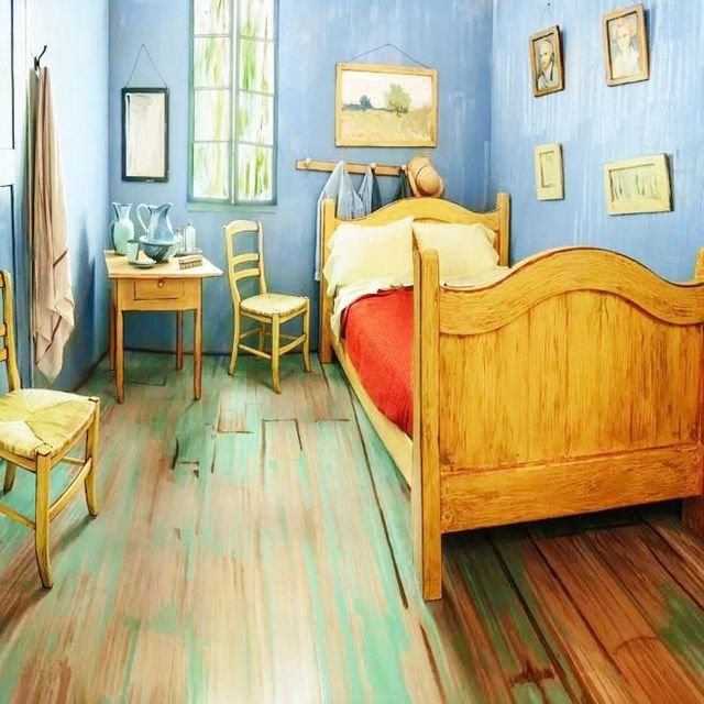 You Can Now Rent a van Gogh-Inspired Airbnb for Just $15 a Night