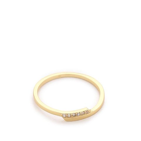 Petra Shimmer Midi Ring