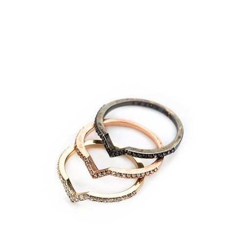 PHYNE Essentials Stackable Pave Ring