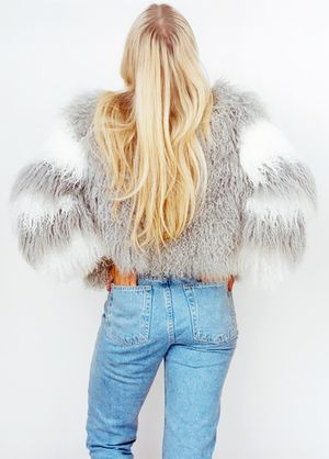 Charlotte Simone Just Launched the Fluffy Jackets of Your Dreams