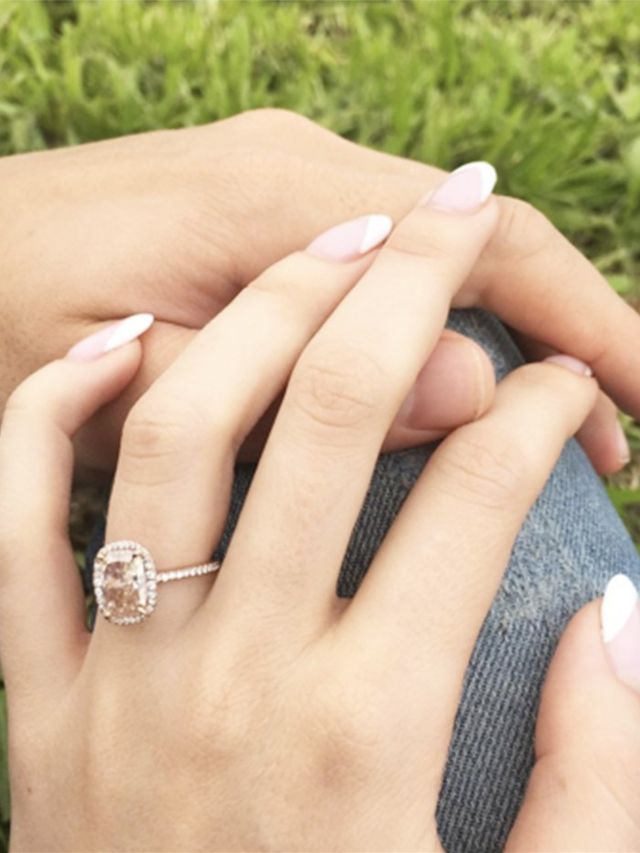 """What the Average Girl Considers a """"Big"""" Engagement Ring ..."""