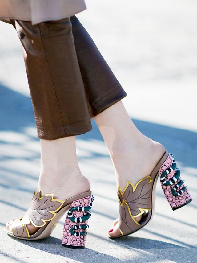 The Most Gorgeous Shoes At New York Fashion Week Whowhatwear