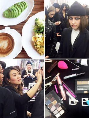 A Day in the Life of a Lead Makeup Artist at NYFW