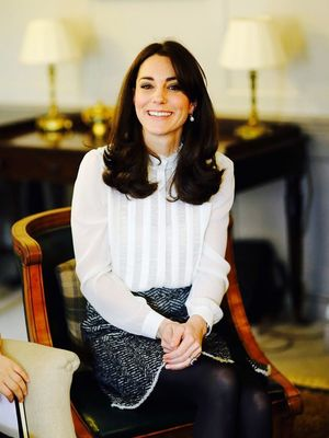 If Kate Middleton Wears a Miniskirt to Work, You Can Too