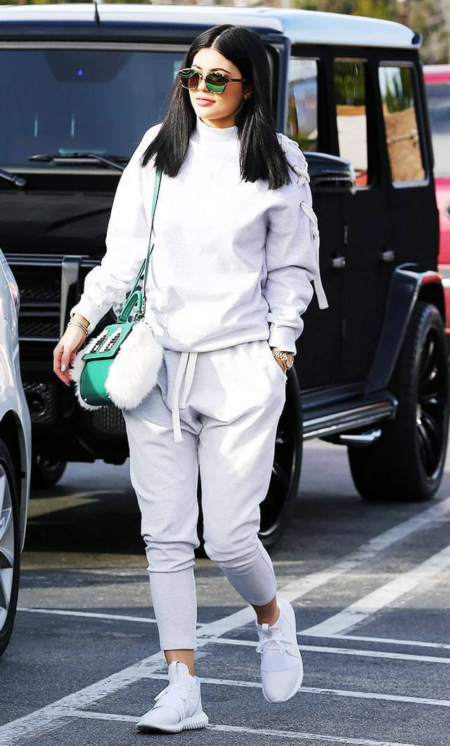 Kylie Jenner's Trick to Make Sweatpants Look Expensive