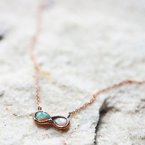 Infinite Possibility Opal Necklace