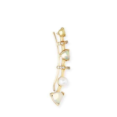 Marta Opal Single Climber Earring