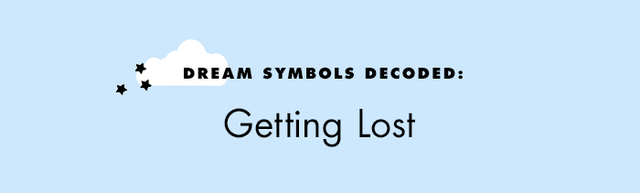 """Whether you're in a completely unfamiliar place or just took a wrong turn, the significance behind feeling lost actually isn't too much of a leap. """"It's frightening being an adult, isn't it?"""" says..."""