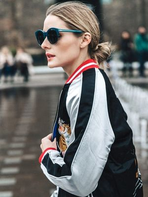 Olivia Palermo Wore the Coolest Embroidered Jacket to London Fashion Week
