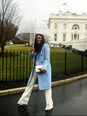 What a Fashion Girl Wears to the White House