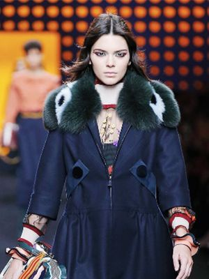 Kendall Jenner Just Opened the Fendi Show in the Cutest Coat