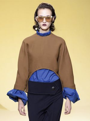 Marni's Fall Collection Will Have You Rethinking Statement Sleeves