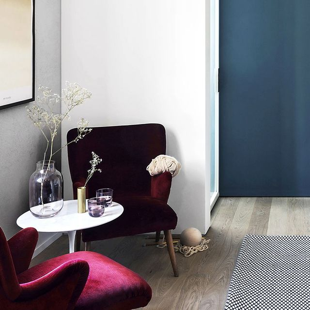 Inside a Small Milan Flat With the Coolest Colour Palette