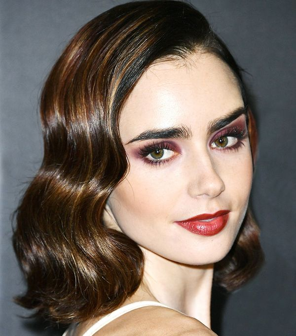 lily-collins-celebrity-beauty-looks