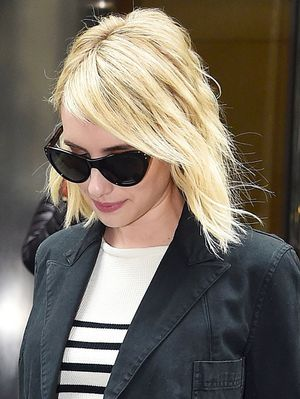 Emma Roberts's Striped Sweater Is So Parisian