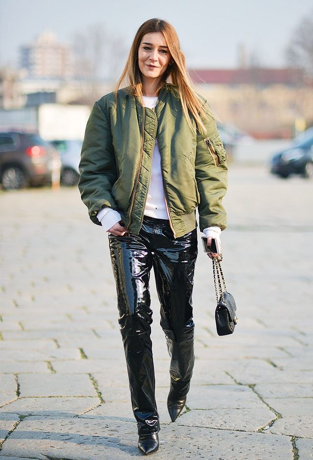 38 Outfits That Prove A Bomber Jacket Is The Only Thing To