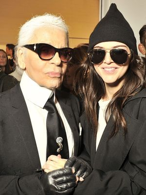 Are These Karl Lagerfeld's Favorite Models Ever?
