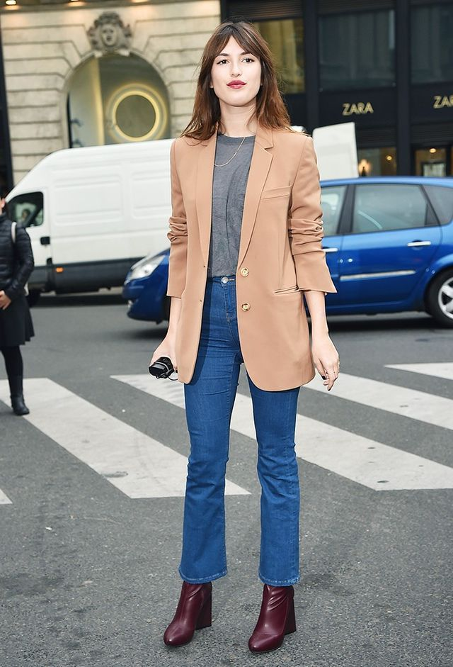 Who: Jeanne Damas What: Designer, occasional blogger, muse, model, It girl Wear: Jeanne always injects a girlish attitude to even the most relaxed looks (especially via a little lipstick) and...