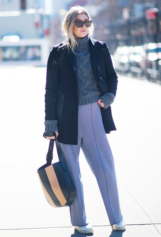Who: Camille Charrière What: French-British blogger who could easily be mistaken for a Scandi thanks to her capable skills with oversize clothes Wear: Camille doesn't have a set look, but...