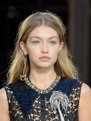 Gigi Hadid Closed Sonia Rykiel in a Completely See-Through Dress