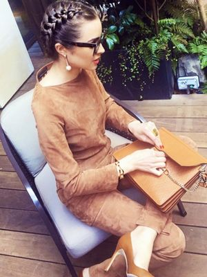 Olivia Culpo Has Just Persuaded Us to Do Double Suede
