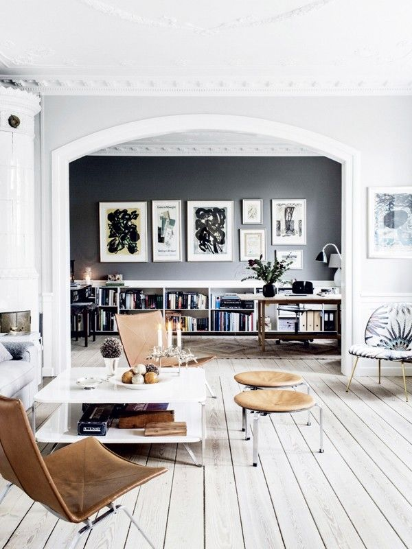 Inside the Gorgeous Grey Home of a
