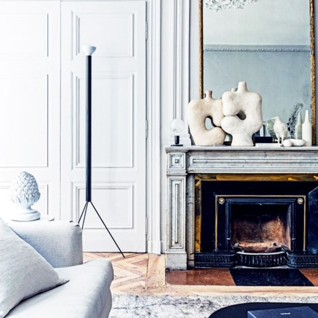 Tour a Chic 19th-Century French Home With Pastel Details