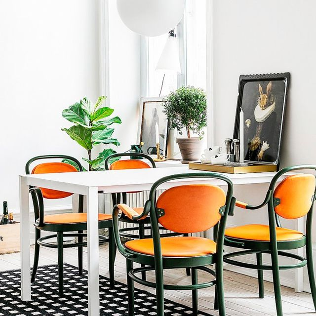 Inside a Colourful 19th-Century Apartment in Sweden