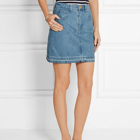 Draycott Denim Mini Skirt
