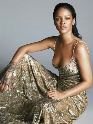 Rihanna Covers Vogue for the Fourth Time