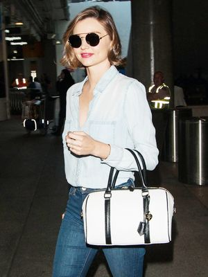 Miranda Kerr Reminds Us Why Denim on Denim Is Always a Good Idea