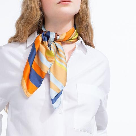 Multicolored Bandana Scarf