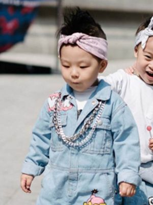 The Best Seoul Fashion Week Picture Is a Tiny Gang of Toddlers