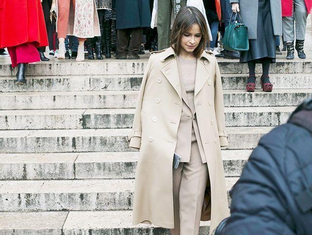 A Traditional Trench Coat