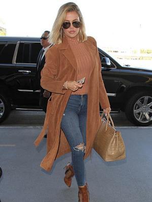 The Type-A Way Khloé Kardashian Organizes Her Leggings