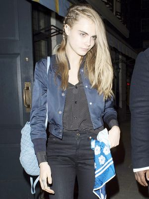Cara Delevingne Just Wore the Coolest Chanel Sneakers for a Night Out